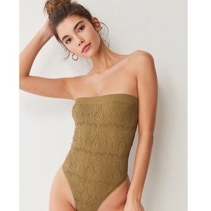 Urban Outfitters Out From Under Strapless Bodysuit